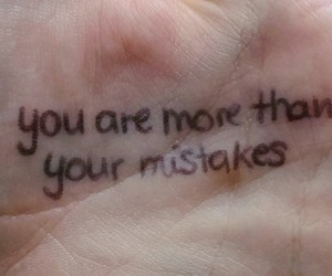 quotes, mistakes, and tumblr image