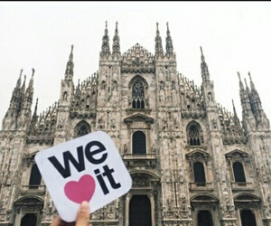we heart it, italy, and travel image