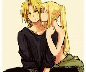 anime, fullmetal alchemist, and winry image