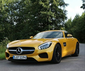 car and mercedes-benz image