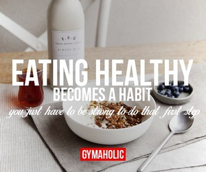 healthy, fitness, and motivation image