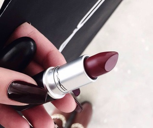 lipstick, beauty, and mac image