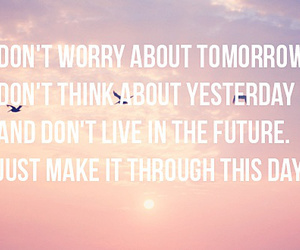 quote, future, and tomorrow image