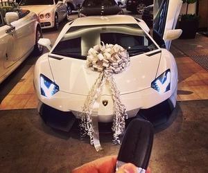 car, luxury, and white image