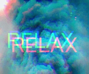 relax, blue, and smoke image