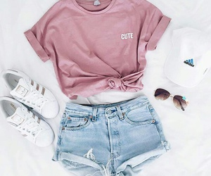 fashion, jean, and pink image