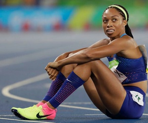 I love her, allyson, and allyson felix image
