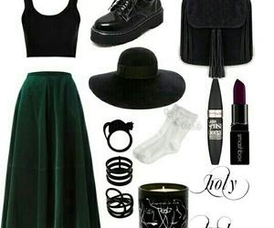 backpack, black, and hat image
