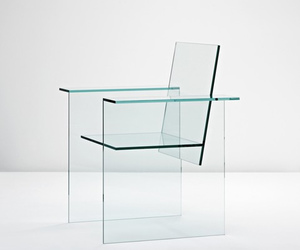 chair, design, and glass image