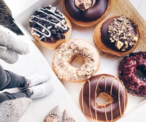 dessert, cute, and donut image