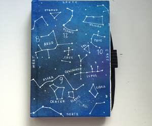 beautiful, constellations, and journal image