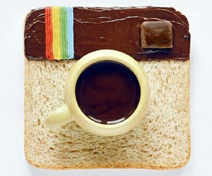 breakfast, camera, and colorful image