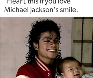 baby, heart, and king of pop image