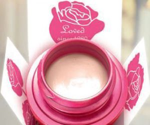 cream, pink, and rose image