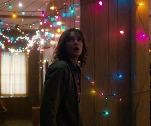 stranger things, winona ryder, and lights image