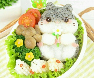 bento, food, and kawaii image