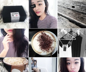 coffee, grunge, and instagram image