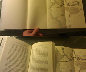 book, map, and funny image
