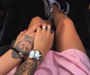 aesthetic, beach, and couples image
