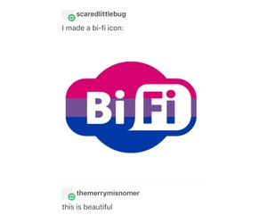 bisexual, internet, and wifi image