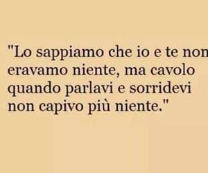 sorrisi, frasi italiane, and amore image