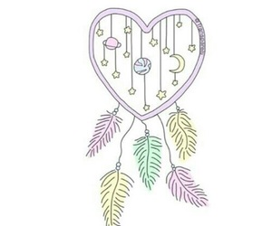 pastel and dream catchers image
