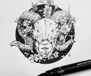 aries, zodiac, and ♈ image