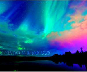 beautiful, bright, and northern lights image