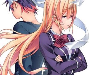 shokugeki no soma, anime, and manga image