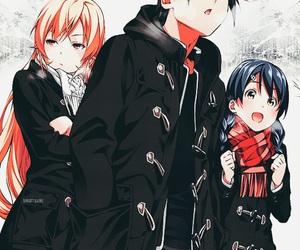 anime, shokugeki no soma, and food wars image