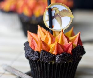 cupcake, cake, and the hunger games image