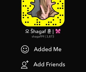 add, kpop, and snapchat image