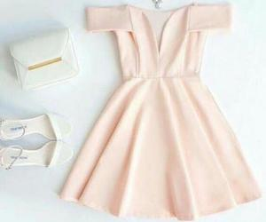 pink homecoming dress, pink dress, and cute women dresses image