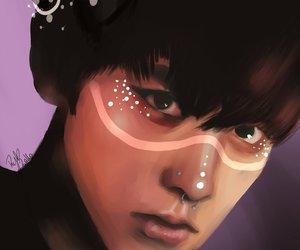 exo, kpop, and fanart chanyeol image