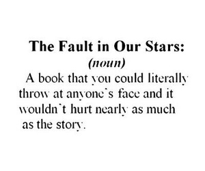 book, the fault in our stars, and tfios image