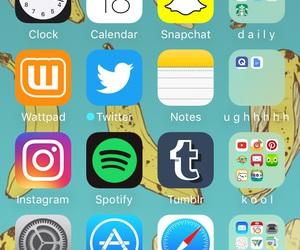 iphone, lockscreen, and organization image
