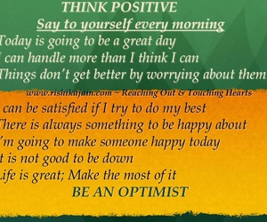 positivity, routines, and mornings image