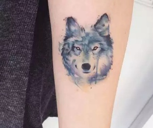 tatto, tatuajes, and lobos image