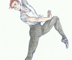art, ballet, and general hux image