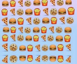 food, wallpaper, and emoji image