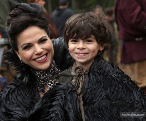 once upon a time, regina, and roland image