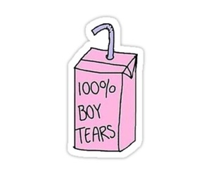 boy, tears, and pink image