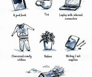 introvert, book, and art image