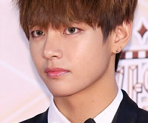 bts and v (taehyung) image