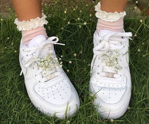 pink, shoes, and socks image