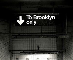 Brooklyn, subway, and new york image