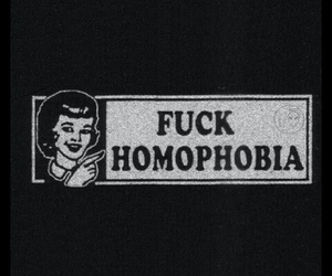 homophobia, love is love, and stop image