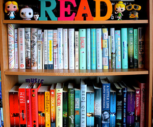 book, colors, and read image