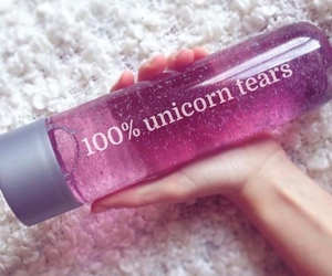 unicorn, pink, and tears image