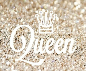 Queen, glitters, and gold image